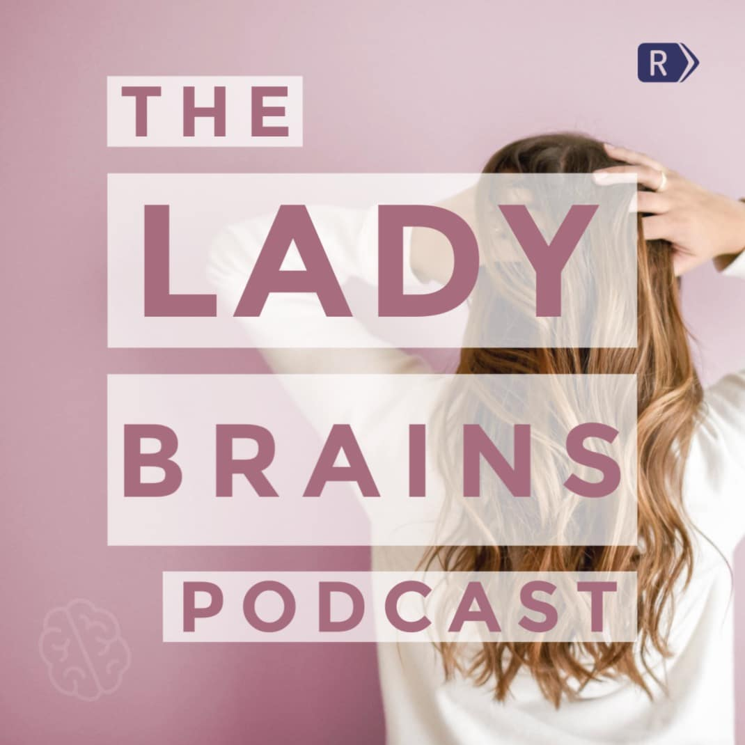 ladybrains podcast artwork