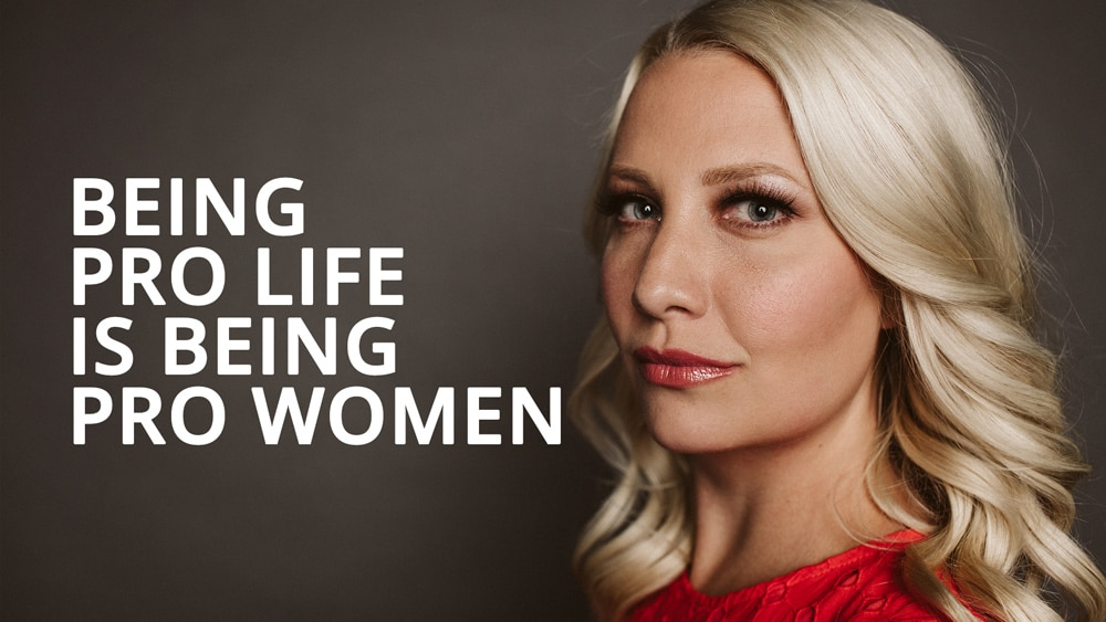 pro life is being pro women